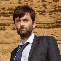 PHOTO OF THE DAY - 26th December 2015:   David Tennant in Broadchurch (2015)