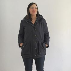Super warm Kelly Anorak! Closet Case Patterns Anorak Jacket, Rain Jacket, Jacket Pattern, Sewing Projects, Windbreaker, Raincoat, Layers, It Is Finished, Warm
