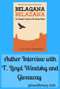 Interview with author T. Lloyd Winetsky is up on the blog today. You can also enter to win his book Belagana-Belazana.