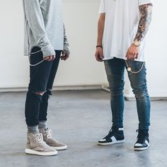 Both, but the left one is more my style