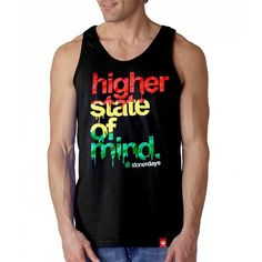 MEN'S RASTA HIGHER STATE OF MIND TANK