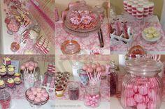 Carlottas Christening Sweet Table