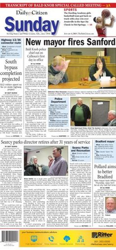 The daily citizen serving searcy and white county ark since 1854