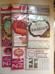 Joann's mini kits......April 2014