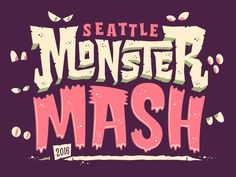Kicking off a month long series of monstrous illustration with a talented group of local Seattle designers. Follow along if you dare!  Behold the horrors here!  Meet the Mad Monster Mash Makers: Ke...