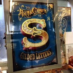 S - Gilded Letters by David A. Smith