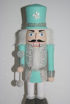 Horizons East Sequin Jacket Wood Nutcracker | Holiday - Christmas ...
