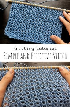Knit Simple and Effective Stitch Cable Knitting, Easy Knitting, Knitting Stitches, Make Blanket, String Theory, Knitted Blankets, Cool Designs, Make It Yourself, Simple