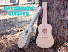 Image result for how to make a banjo out  of cardboard ,wood and string