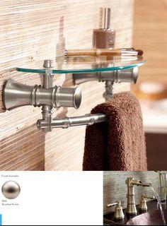 Bathroom Accessories Glass Shelves moen iso bathroom accessories. bathroom lighting, towel racks