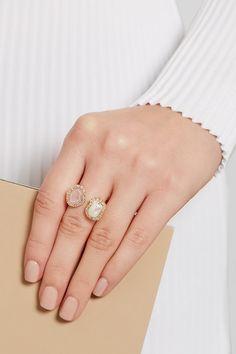 Kimberly McDonald | 18-karat gold multi-stone ring | NET-A-PORTER.COM