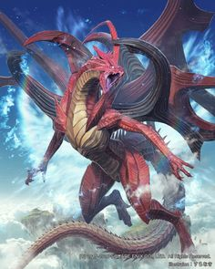 FFVII Neo Bahamut from Mobius Final Fantasy