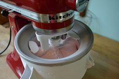 easy ice cream recipes no egg! For kitchenaid mixer