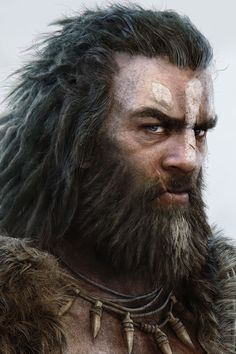 Oh wow, he looks like Beorn and wow, he's amazing. The kind of uncle-y guy id like to have as a friend on an adventure