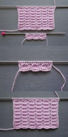 Haroşalı Treads Vest und Baby Knitting Model und Making - Kostenlos Lace Knitting, Baby Knitting Patterns, Knitting Stitches, Crochet Patterns, Crochet Patron, Knit Crochet, Crochet Hats, Men And Babies, Baby Overall