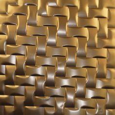 Interlam weave - copper