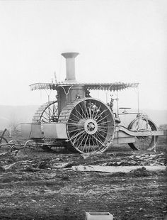 Case Steam Tractor from 1893 (by Beast 1) #Steampunk