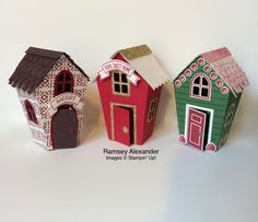 Stampin Up - Home Sweet Home stamps and thinlits.