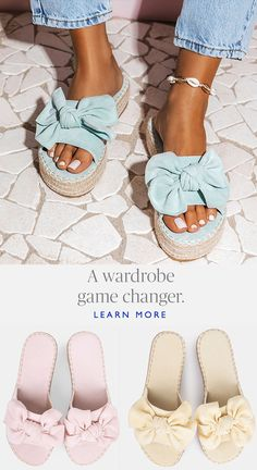 Chanel handbags – High Fashion For Women Cute Sandals, Cute Shoes, Me Too Shoes, Cute Fashion, Womens Fashion, Bow Shoes, Fashion Books, Chanel Handbags, Summer Shoes