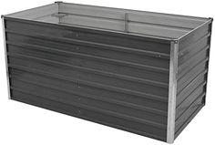 Festnight Raised Garden Bed Balcony Planter Galvanised Steel Bed Basket 160x80x77 cm: Amazon.com.au: Home Balcony Planters, Deep And Wide, Steel Bed, Raised Garden Beds, Galvanized Steel, Outdoor Furniture, Outdoor Decor, Basket, Amazon