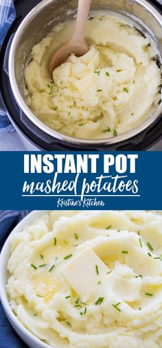 Instant Pot Mashed Potatoes The best creamy, fluffy mashed potatoes! This Instant Pot Mashed Potatoes recipe is so easy! Your homemade mashed potatoes will come out perfect every time when you make them in your pressure cooker using my easy method. Instant Pot Mashed Potatoes Recipe, Perfect Mashed Potatoes, Fluffy Mashed Potatoes, Instant Potatoes, Homemade Mash Potatoes, Corned Beef Brisket, Easy Potato Recipes, Mashed Potato Recipes, Easy Instapot Recipes