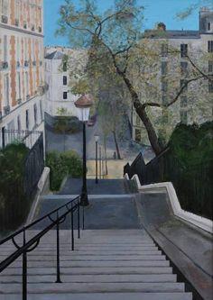 Figurative Art, Fine Art Paper, Saatchi Art, Paris, Art Prints, Gallery, Outdoor Decor, Painting, Google
