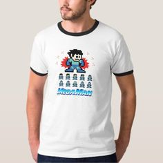 Stickman Portrait - Mens T T-Shirt - tap to personalize and get yours Types Of T Shirts, Engineer Shirt, Ringer Tee, Shirt Outfit, Casual Looks, Funny Tshirts, Shirt Style, Fitness Models, Shirt Designs
