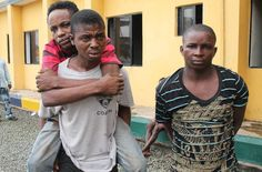3 inmates rearrested after escaping from detention taking with them two Ak 47 riffles