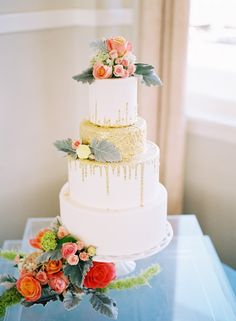 These heavenly wedding cakes from Sugar Bee Sweets Bakeryare so gorgeous! There's a wonderful mix of rustically designed cakes and sophisticated ballroom wedding cakes, but all together they make such beautiful cake inspiration. Enjoy each one of these amazing cake designs that are made to perfection! Featured Cake: Sugar Bee Sweets Bakery Nothing says rustic […]