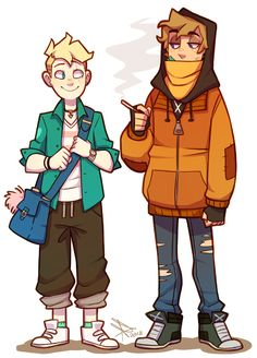 South Park fanart- Butters x Kenny (Bunny) Kenny South Park, Creek South Park, South Park Anime, South Park Fanart, Bunny Tumblr, Butters South Park, Cartoon Kunst, Park Pictures, Wow Art