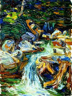 Henri Matisse, Abstract Landscape Painting, Landscape Paintings, Landscapes, Oil Paintings, Monet, Art Kandinsky, Wassily Kandinsky Paintings, Art Abstrait