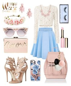 """""""Spring, everybody! 🌸🦋"""" by xdarinafxhs on Polyvore featuring Mode, WithChic, A.L.C., Giuseppe Zanotti, J.Crew, BCBGMAXAZRIA, Accessorize, Jimmy Choo, Forever 21 und GUESS"""