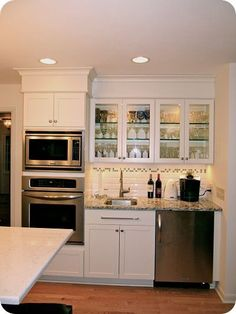 Adding A Kitchen To A Basement. My Basement Mini Kitchen With Oven Microwave Under The Counter Fridge Now Where To Put A Gas Stove