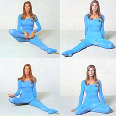 Lyn Marshall (vintage yoga) ..... #yogahistory #vintageyoga #1970s #yoga #yogaworld #yogaliving #celebrityyoga