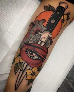 Neo Traditional Tattoo, Cool Tattoos, Cactus, Tattoo Designs, Ideas, Neo Traditional, Tatuajes, Coolest Tattoo, Tattooed Guys