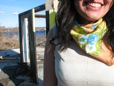 Reader Request: How to Wear Smaller Scarves
