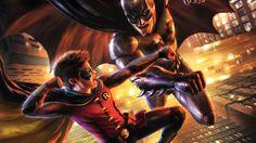 DC sparkar röv än en gång med en suverän animerad film!  Batman vs Robin!