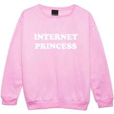 Internet Princess Sweater Jumper Funny Fun Tumblr Hipster Swag Grunge... ($20) ❤ liked on Polyvore featuring tops, sweaters, black, sweatshirts, women's clothing, gothic sweaters, star jumper, hipster sweater, punk rock sweaters and goth top