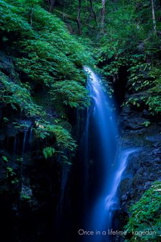 https://flic.kr/p/AECEgM | 森の中から | ふと振り返ると、全然来着かなかった多気がありました。森から流れ出し、岩を伝う流れは美しかったです。