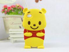 Bande dessinée winnie pooh case silicone souple retour couverture 3d mignon ours en caoutchouc protecteur logement pour iPhone 4 G 4S 5 G 5S 5C dans Sacs et Etuis pour Téléphone de Téléphones et télécommunications sur AliExpress.com | Alibaba Group