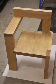 "Gerrit Rietveld ""Steltman"" chair 1963 . http://4.bp.blogspot.com/-dhul1CGku9M/TY_43nuM6sI/AAAAAAAAAO8/w006p4OQ2H8/s1600/DJD_0018.JPG"