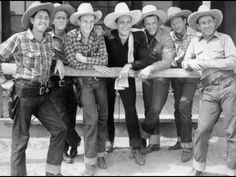 Sons Of The Pioneers - Where Is My Wandering Boy Tonight (c.1941).
