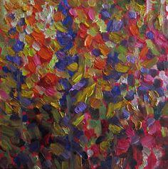 """Where ART Lives Gallery Artists Group Blog: #60 ''GARDEN ABSTRACT"""" Dee Sanchez"""