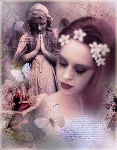 ~*~Beauty isn't about having A Pretty Face,It is about having A Pretty Mind,A Pretty Heart,and Most Importantly,A Beauty Soul.~*~Image-Bohemiart.