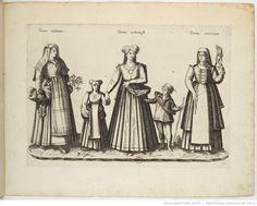 Foreign Costume Series | Jean-Jacques Boissard | 1581 | Bibliothèque nationale de France | Ref.: 4-OB-26 | Women of Vetrana