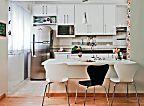 As metragens mínimas para sala, quarto, cozinha e banheiro. Fotos publicadas na revista MINHA CASA.