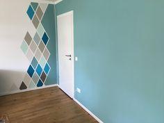 karomuster im wohnzimmer mit schöner wohnen Farbe