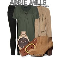 Inspired by Nicole Beharie as Abbie Mills on Sleepy Hollow. #television #wearwhatyouwatch