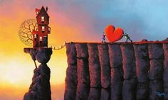 Romantic and Vibrant Paintings by David Renshaw