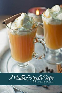 Enjoy a cozy mug of Mulled Apple Cider. Make it slow cooker style or on the stove top, either way, your house will smell amazing and it will taste gorgeous!